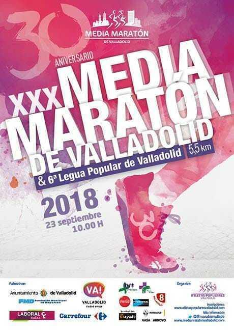 Media Maratón Ciudad de Valladolid 2018