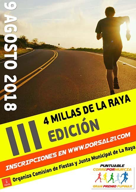 4 Millas de La Raya 2018