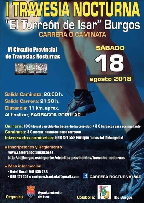 Travesía Nocturna El Torreón de Isar 2018