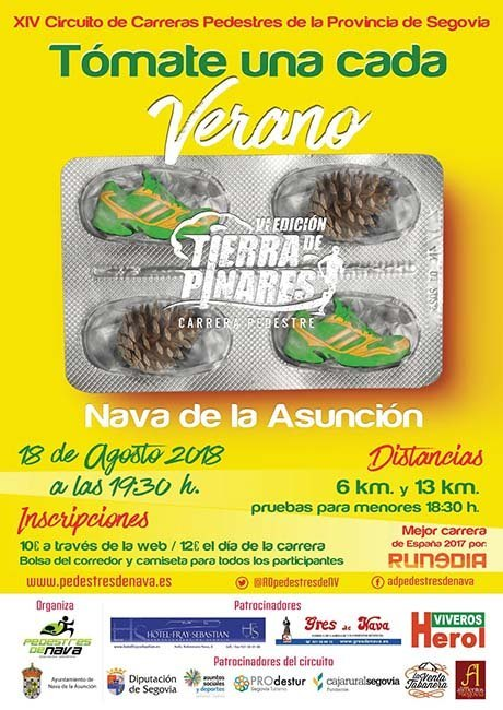 Carrera Pedestre Tierra de Pinares 2018