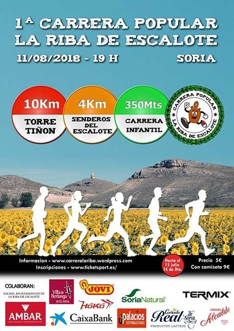 Carrera Popular de La Riba de Escalote 2018