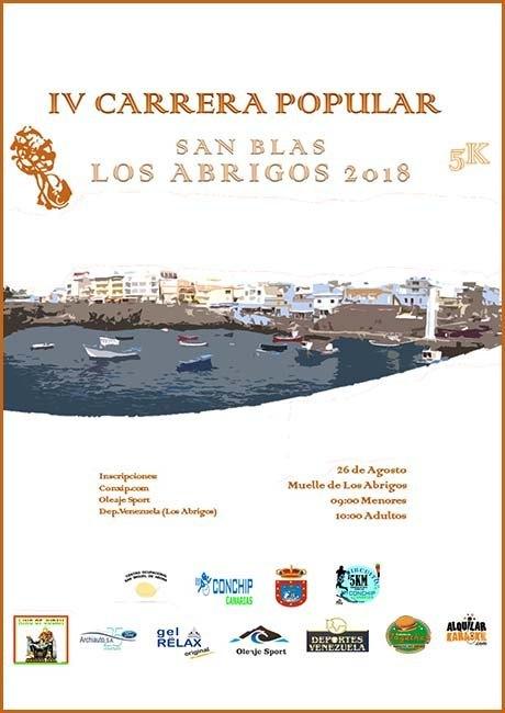Carrera Popular San Blas Los Abrigos 2018