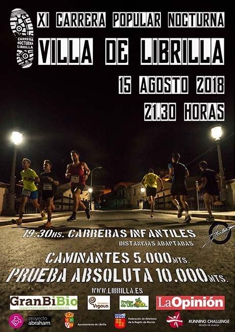 Carrera Popular Nocturna Villa de Librilla 2018
