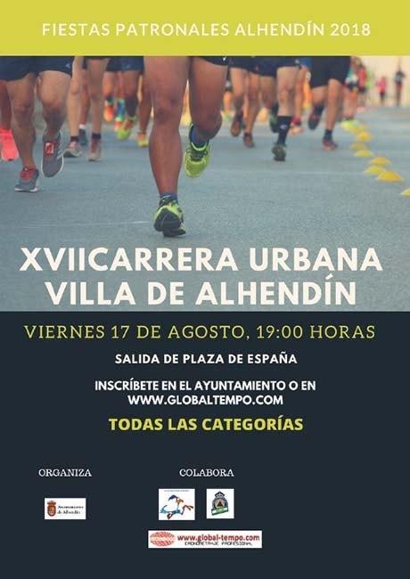 Carrera Urbana Villa de Alhendín 2018