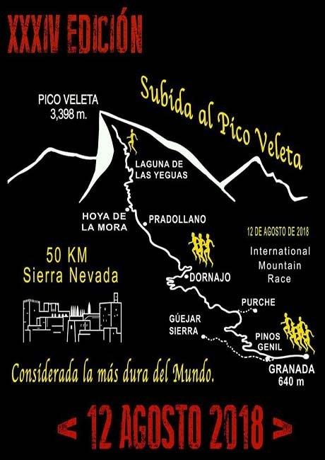 Subida Internacional Granada - Pico Veleta 2018