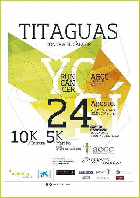 Carrera Solidaria Titaguas Contra el Cáncer 2018