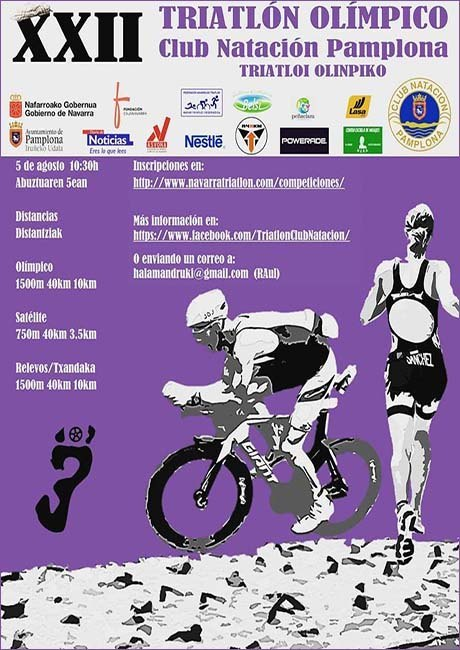 Triatlón Olímpico Club Natación Pamplona 2018