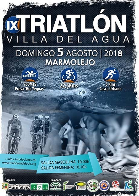 Triatlón Villa del Agua 2018
