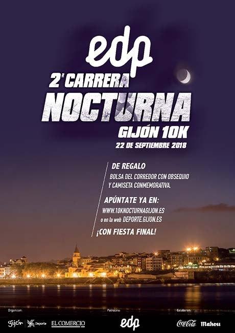 Carrera Nocturna Gijón 10K