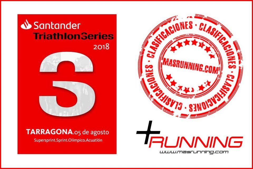 Resultados Santander Triathlon Series Tarragona 2018