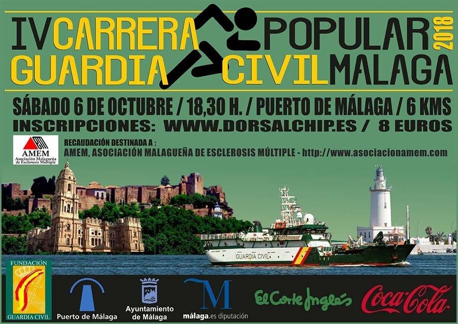 Carrera Popular Guardia Civil de Málaga 2018