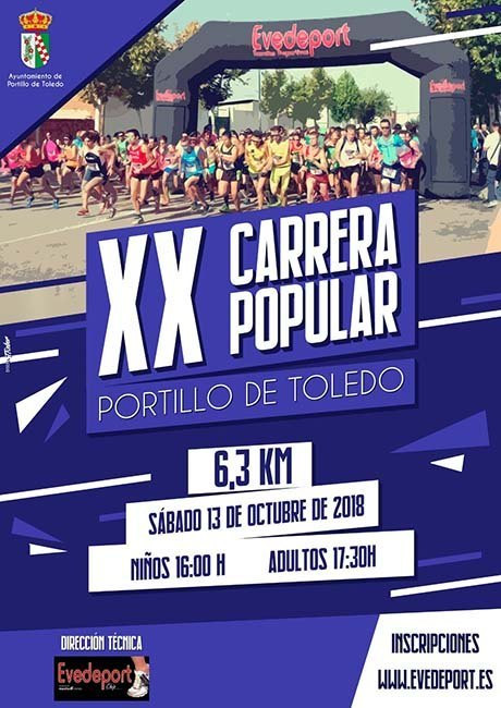 Carrera Popular de Portillo de Toledo 2018
