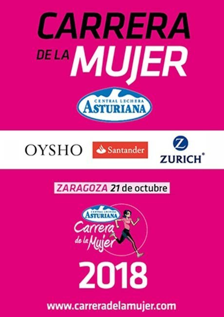 Carrera de la Mujer Zaragoza 2018