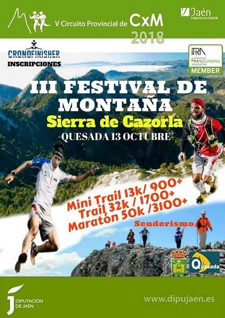 Festival de Montaña Sierra de Cazorla 2018