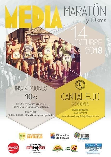 Media Maratón de Cantalejo 2018