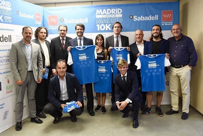 presentacion madrid corre por madrid 2018