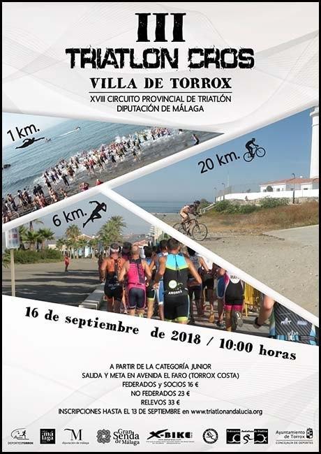 Triatlón Cros Villa de Torrox 2018