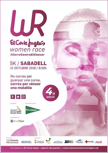 Women Race El Corte Inglés Sabadell 2018