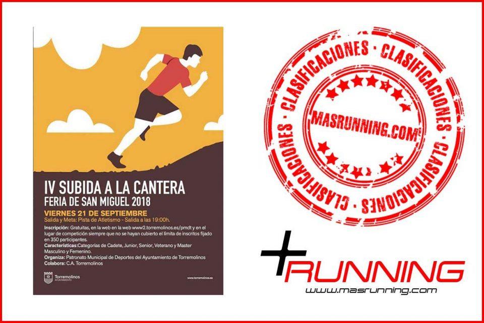 Subida a la Cantera 2018 Torremolinos