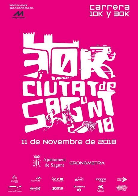 30K Ciudad de Sagunto 2018