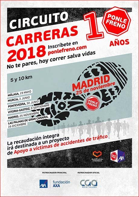 Carrera Ponle Freno Madrid 2018