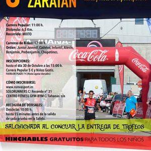 Carrera Popular de la Salchicha de Zaratán 2018