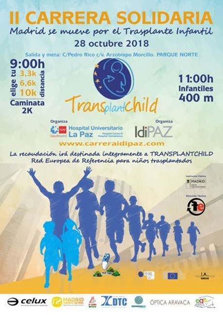 Carrera Solidaria Idipaz Hospital de la Paz 2018