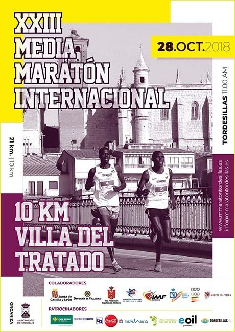 Media Maraton Internacional de Tordesillas 2018