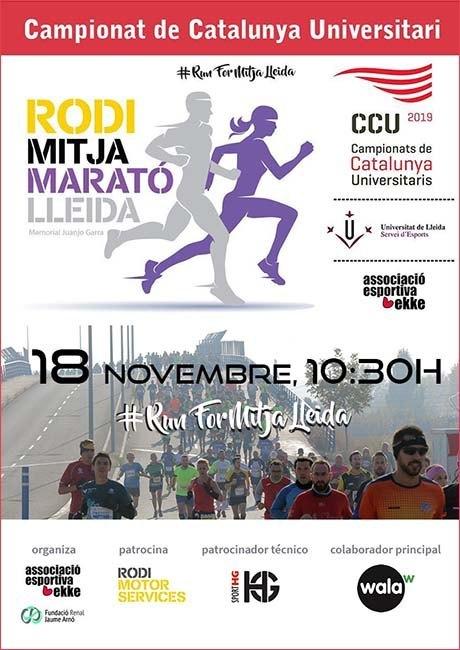 Media Maratón de Lleida 2018
