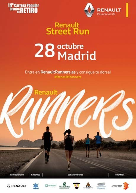 Renault Street Run Madrid 2018