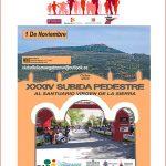 Subida Pedestre al Santuario Virgen de la Sierra 2018