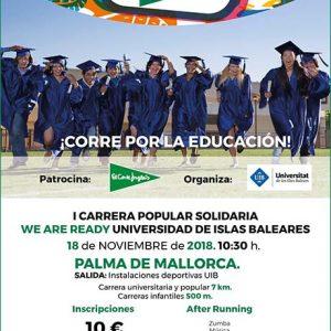 We Are Ready Universidad de Islas Baleares 2018