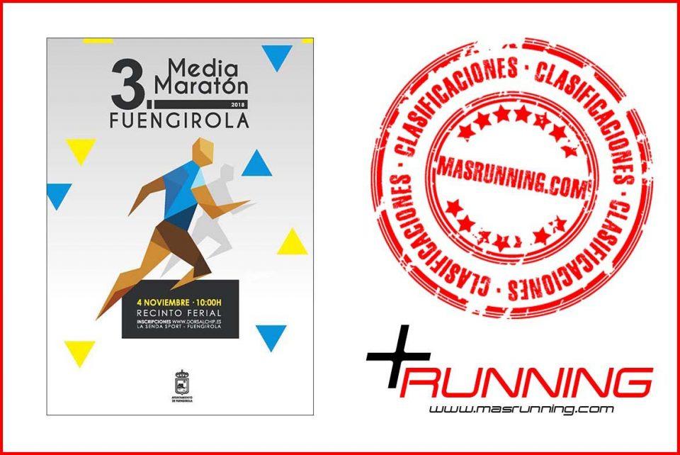 resultados Media Maratón de Fuengirola 2018