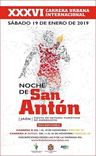 Carrera Urbana Internacional Noche de San Anton 2019