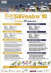 San Silvestre de Vitoria-Gasteiz 2018