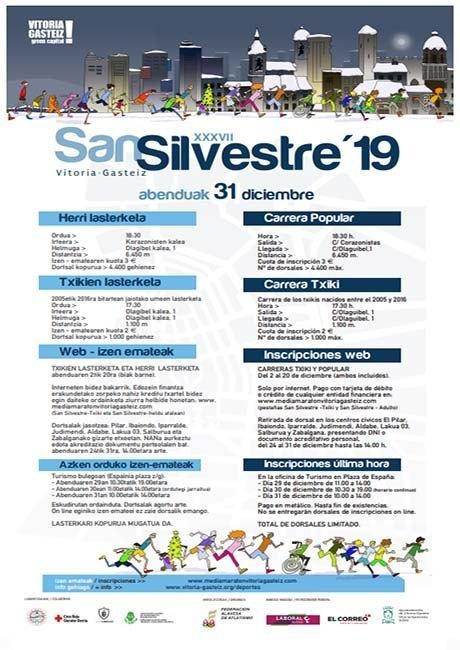 San Silvestre de Vitoria Gasteiz 2019