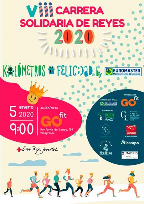 Carrera Solidaria de Reyes de Madrid 2020