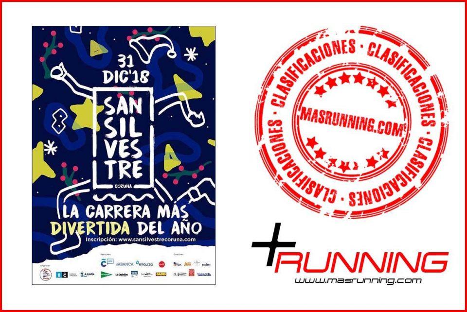 resultados San Silvestre de A Coruña 2018