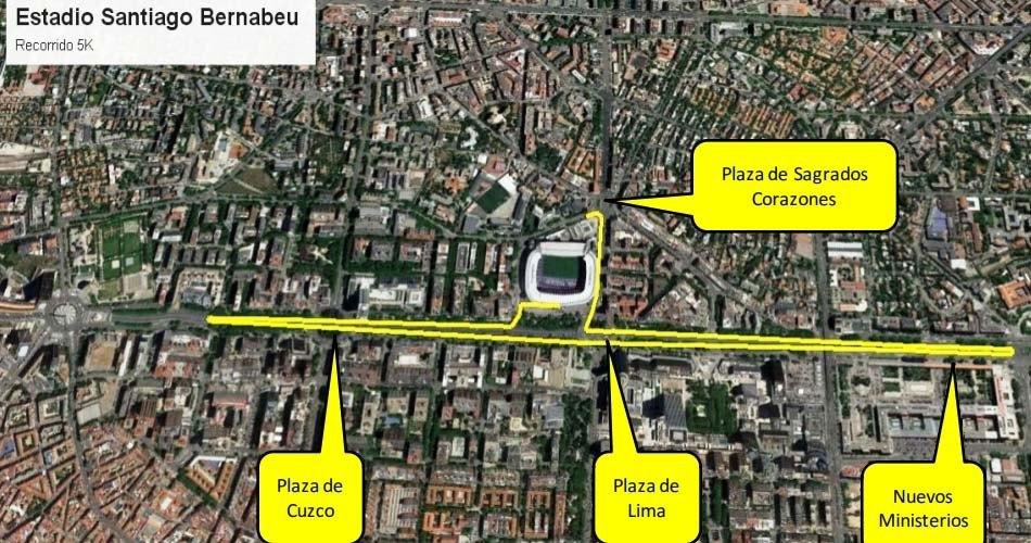 Carrera Solidaria Fundación Real Madrid 5k