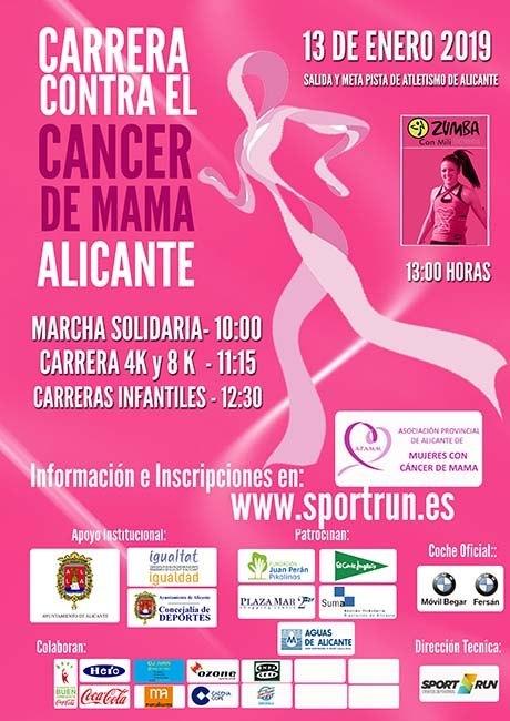 Carrera Contra El Cáncer de Máma Alicante 2019