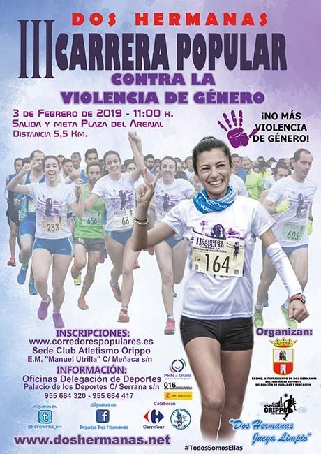 Carrera Popular Contra La Violencia de Género de Dos Hermanas 2019
