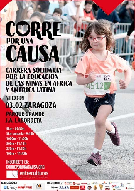 Corre por una Causa Zaragoza 2019