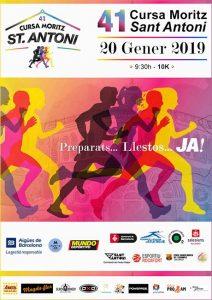 Cursa Moritz Sant Antoni 2019
