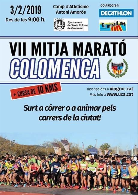 Mitja Marato Colomenca 2019