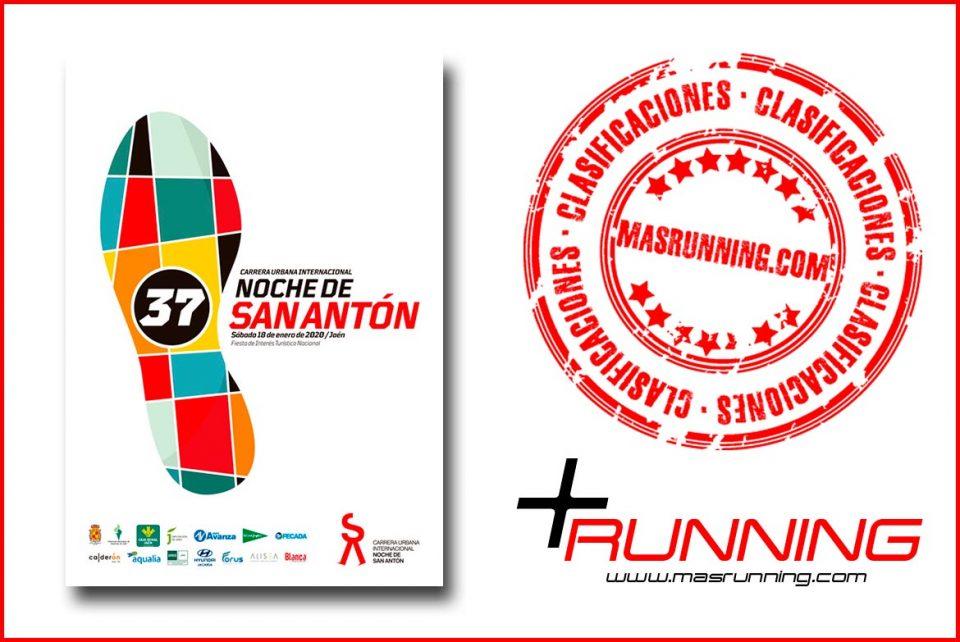 Resultados Carrera San Antón 2020