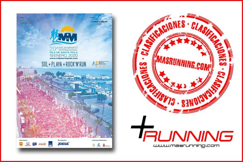 Resultados Mitja Marató Alicante Santa Pola 2020