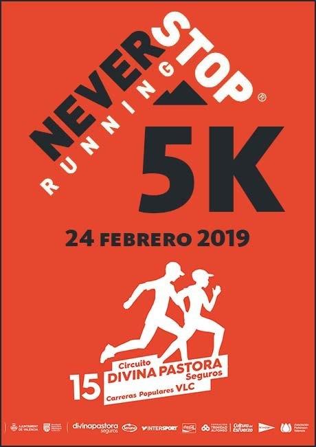 5K Never Stop Running Valencia 2019