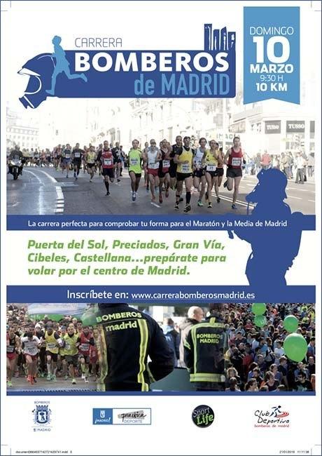 Carrera Bomberos de Madrid 2019