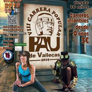 Carrera Popular Pau de Vallecas 2019