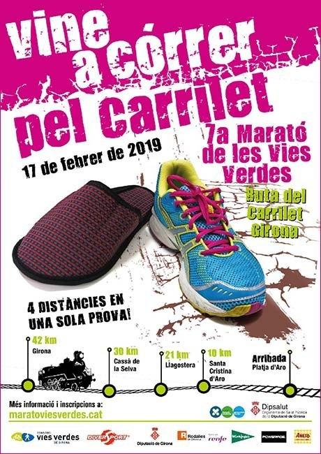 Marató de les Víes Verdes Girona 2019